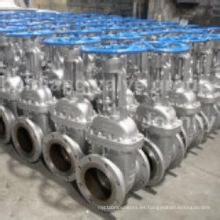 Inversión perdida de cera de fundición Válvula de bola neumática