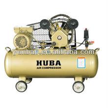 Compresor de aire accionado por correa eléctrica de pistón tipo V 3HP