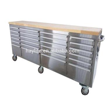 Нержавеющая сталь верстак с ящиками для продажи