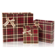 Promotional Gift Box with Suit Bag, Grid Birthday Gift Box