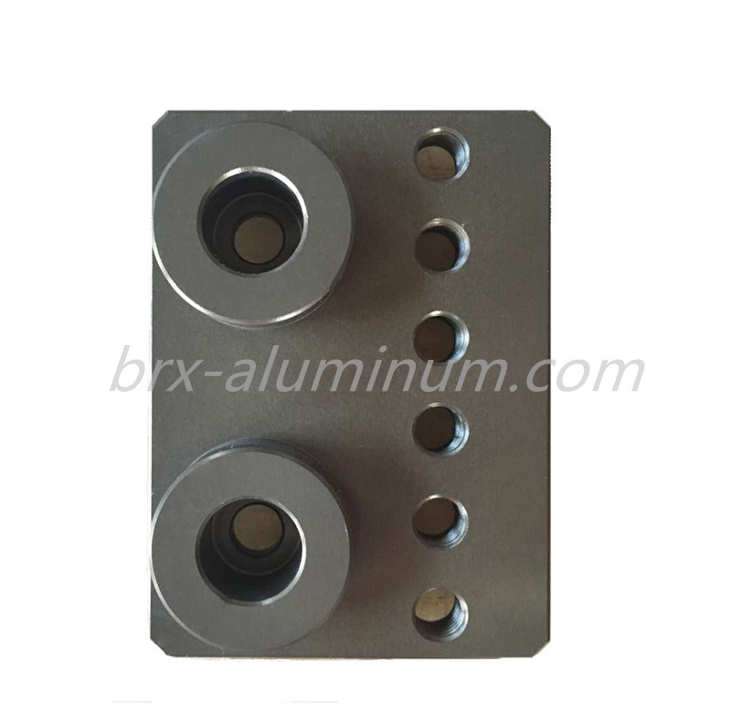Hard Anodized Aluminum Part for Machine