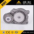 Komatsu parts PC50UU-2 water pump YM129900-42001 in stock