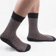 Men′s Cotton Crew Business Socks (MA034)