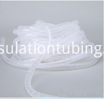 Transparent Color Insulation Wire Spiral Wrapping Bands
