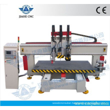 Heavy Duty Vacuum Table CNC Machine Center price 1300*2500 With YASKAWA Servo Motor and Driver