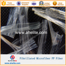 Microfiber Fibrillated PP Fiber for Concrete Admixtures