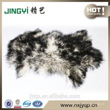 Пушистые Монгольской Овчины Меховой Темно-Зеленый