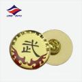 Insignia simbólica personalizada del logotipo del centro de entrenamiento de los artes marciales