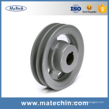 China Manufacturers Custom Nodular Cast Iron Pulley Wheels