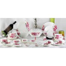 wholesale heavy gold silver platinum casserole decorative dinnerware dinner unbreakable dinner set