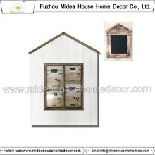 Hausform Elegante Collage Bilderrahmen