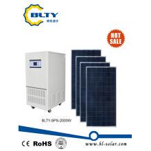 Солнечной энергии с солнечными панелями 2000 Вт