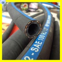 Manguera de caucho de fibra Manguera de fibra de aceite SAE R6 Manguera