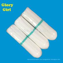 Persönliche Rayon Baumwolle nicht Applikator Tampons mit normaler Größe für 3-5 Tage