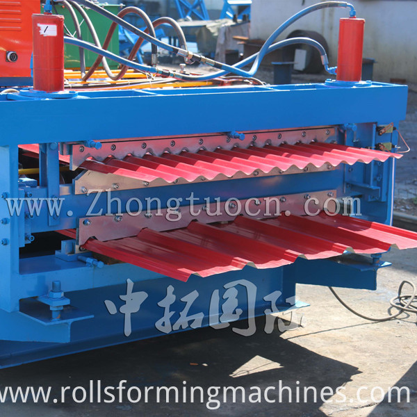 Double Layer Roll Forming machine (5)