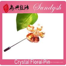 Estilo vintage strass cristal casamento bridal bouquet flor broche