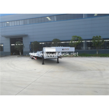 Lowboy FUWA Axle Low Bed Trailer Truk Semi