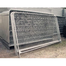 High Quality Frame Fence /Welded Wire Mesh Panel with Round Post Fence
