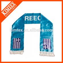 Fashion digital print custom design polyester scarf