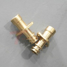 Custom cnc machining parts brass metal spare parts