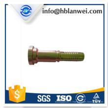 Raccords de tuyauterie en femelle filetage à sertir flexible hydraulique