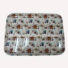 "100% меламин посуда -""Франция Медведь""поднос Серия/100% меламина посуда (FB9012)"