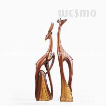 Esculturas elegantes dos cervos de Polyresin (WTS0003A & B)