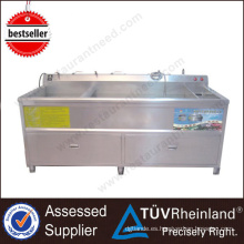Equipo de cocina Single Tank Commercial Used Vegetable Washer