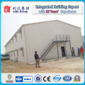 50mm Fiber Glass Sandwich Panel and Prefabricated Steel Structure Labor House for Construction