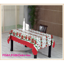 PVC/Vinyl Table Cover with Christmas Designs