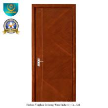 Porte de style moderne HDF pour l'intérieur (ds-089)