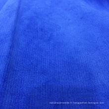 Tissu en velours côtelé en coton stretch spandex 23