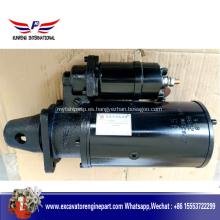 Motor de arranque Weichai Diesel 612600090340 motor de arranque