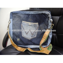 Jeans messenger bag