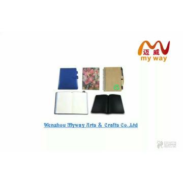 MWN-09 рекламный блокнот из переработанной бумаги, блокнот и блокнот