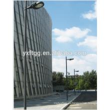 Poste de iluminación de calle de acero galvanizado ourdoor