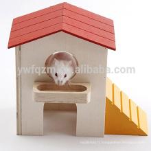 Cage de hamster en bois faite main
