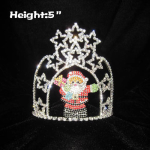 Santa Claus Christmas In July Pageant Star Crowns