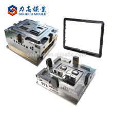Personnalisé à la mode et pas cher LCD TV boîtier en plastique moule, LED TV couverture arrière pièces en plastique moule à injection Chine fabricant