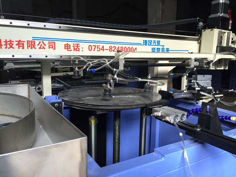 Automatic Tension Soaking  Robot