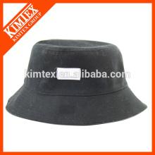 Neue Ankunfts-Baumwollniveau-unbelegte preiswerte Golf-kundenspezifische Eimer-Hüte Großverkauf