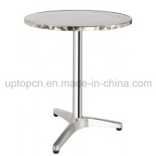 Round Stainless Steel Table for Garden (SP-AT356)