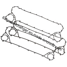 Replacement Gaskets for Alfalaval Plate Heat Exchanger M30, Mx25b, Mx25m