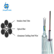12 Stranded AA/ACS Wire OPGW Cable Ground Wire Price
