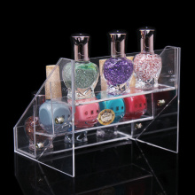 Werbung Zähler Acryl Display Stand, Pop Nail Polish Display Rack