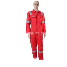 100% Bomull Flamskyddsmedel Coverall