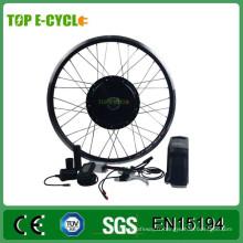 Kit de moteur électrique de conversion de vélo de dessus / OEM 36v 48v 350w 500w 1000w avec la batterie