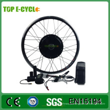 TOP / OEM Kit de Bicicleta Elétrica Preço 48 V 1000 W Kit de Bicicleta Elétrica 20 Polegada Elétrica Fat Bike Kit de Conversão