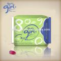 Eigene Marke Ruhm Mädchen natürliche Damen angepasst Großhandel Sanitär-Pads