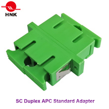 Sc Duplex Singlemode APC Standard Fiber Optic Adapter